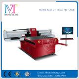 Impresora plana ULTRAVIOLETA Mt-1212r de la impresora de inyección de tinta de los resbaladores de Ricoh Gen5 del metal dual de la cabeza de impresora