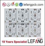 LED 빛을%s 백색 땜납 회로판 LED PCB