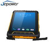7 scanner raboteux PDA tenu dans la main de code barres de la saisie de données industrielles d'écran tactile de pouce 1d 2D