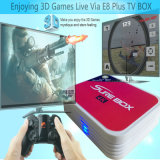 Самая дешевая коробка IPTV 2.4G 5.8g Amlogic S912X Android TV