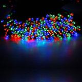Outdoor 200 micro chaîne solaire LED Lumières de Noël avec deux modes d'éclairage