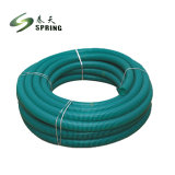 Tubo di aspirazione del PVC/tubo flessibile di plastica flessibili tubo flessibile dell'acqua/pompa aspirante