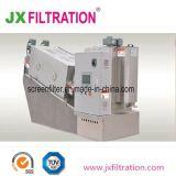 Pjdl301 lodos de la prensa de tornillo multidisco botella para el tratamiento de aguas residuales
