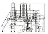 Multibar Spitze computergesteuerte Verzerrung-Strickmaschine/Jacquardwebstuhl-Maschine