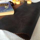 Rotes Veloursleder-Ebenen-Gewebe für Sofa und Stuhl