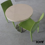 Ресторан мебель кварцевого камня обеденный стол,