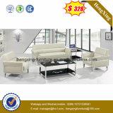 Oficina de color marrón rojizo coincidencia sofá con mesa de café (HX-CS020)