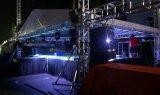 6 Aluminium-Binder-Lichtbogen-Dach der Pfosten-34X34FT mit Soundwings