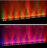 48W Tuin van de Brug van het Roestvrij staal van de Afstandsbediening DMX512 van de openlucht LEIDENE RGB Was van de Muur Lichte