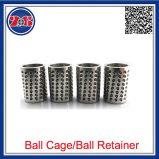 Gabbie di sfera, cuscinetto della guida delle gabbie di sfera, gabbia di sfera di plastica DIN1675 dalla sfera d'acciaio