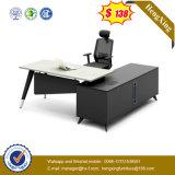 새로운 디자인 강철 다리 사무용 가구 구유 테이블 책상 (UL-ND051)