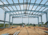 Almacén prefabricado del acero ligero de la alta calidad con el suelo de entresuelo