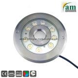 LED 수중 빛이 IP68 27W RGB LED 샘에 의하여 점화한다