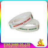 Wristband di gomma del silicone popolare professionale del prodotto, braccialetto del silicone di stile di modo
