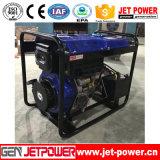 De open van de Diesel van het Frame 5kVA Draagbare Generator Dieselmotor van de Generator Luchtgekoelde