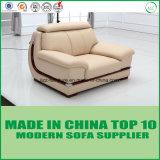 L Form-Büro-ledernes Sofa-geschnittenbett