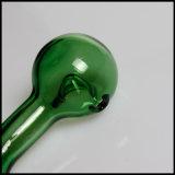 Мини-круглые ложку левой трубы для оптовых зеленого табака курения трубки