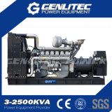 9kVA até geradores do diesel do alternador de Stamford do motor de 2250kVA Perkins