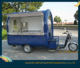 Трейлер еды колес высокого качества 3 электрический передвижной