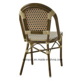 Cadeira de alumínio do Rattan do café ao ar livre moderno do restaurante (SP-OC443)