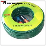 PVCファイバーの編みこみのホースPVC適用範囲が広い水ガーデン・ホース