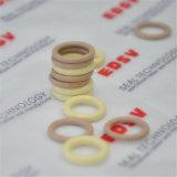 Vedação de borracha/bege de alta qualidade O anel de cor branca,