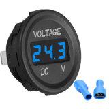 Volt-Spannungs-Anzeigeinstrument-Messinstrument des Auto-Digital-Blau-LED