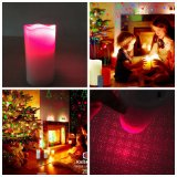 Luz de la vela; Luz laser de la vela del LED; Vela de la Navidad; Luz/proyector del humor del LED