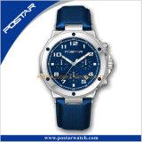Horloge van uitstekende kwaliteit van de Mensen van de Manier van de Sport van het Geval van de Riem van het Canvas het Speciale