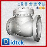 Klep van de Controle van de Schommeling van de Bonnet van Didtek de volledig Open Schijf Vastgeboute