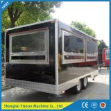 Fabricante de fábrica Food Van Churros sorvete máquina de cozinha Rápida do Reboque