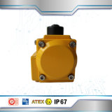 Клапан-бабочка электрического силового привода пневматическая