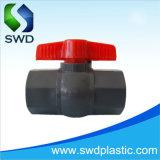 Norma DIN octogonal de PVC as válvulas de esfera