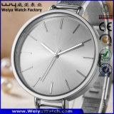 Orologi su ordinazione di modo della vigilanza del quarzo di marchio per le signore degli uomini (WY-17006A)