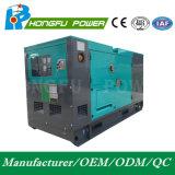 generador diesel silencioso estupendo insonoro de 240kw Hongfu con el motor de Perkins