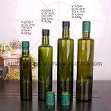 オリーブ油のための750ml丸型の緑のガラスビン