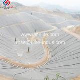 Conjunto de calor blanco Geotextile Nonwoven Pet para la estabilización de la tierra