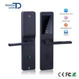 アクセス制御BluetoothのコードカードAPPが付いているスマートな電子キーパッド番号ドアロックの生物測定の指紋のドアロック