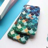 Ultra-Thin Antichoque Sereia Escalas de Peixe Caso Telefone para iPhone 7/7plus