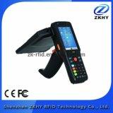 Programa de lectura Handheld de la frecuencia ultraelevada RFID del androide del nuevo producto con el explorador del código de barras