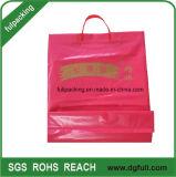 Mango de plástico de colores de las bolsas de compras