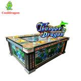 Dragón azul libre del trueno de la máquina de ranuras del casino de la pesca del juego de los pescados del Shooting que juega para la venta