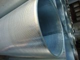 L'alluminio di piastra metallica perforato ha perforato