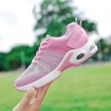 Способ розовое новое Wonmen обувает ботинки светлых ботинок женщин Flyknit ботинок спорта верхних идущие