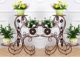 Étagère multicouche de vente chaude de fleur pour la décoration de balcon