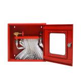 キャビネットが付いている消火活動装置水消火ホースの巻き枠