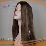 El Color Natural brasileño despuntador judío pedazo de cabello (PPG-L-01514)