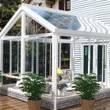 Sunroom de aluminio con el vidrio de Insualting para el balcón