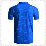 As vendas a granel confortável Blue Quick Dry Desgaste de desporto 100% algodão Polo T shirts