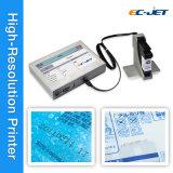 Inyección de tinta de alta resolución de bajo coste Fecha de caducidad y código de barras impresora